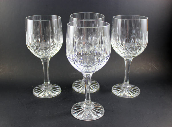 Cross and Olive Red Wine Glasses