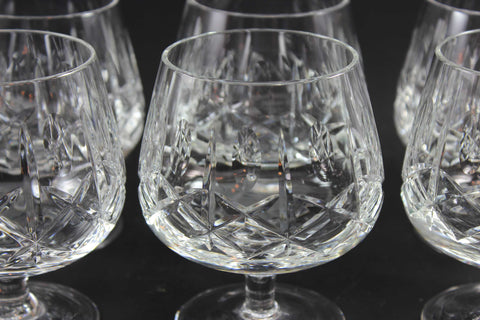 Cross and Olive Crystal, Brandy Snifters