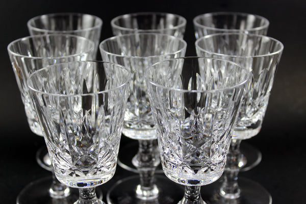 Cross and Olive White Wine Glasses