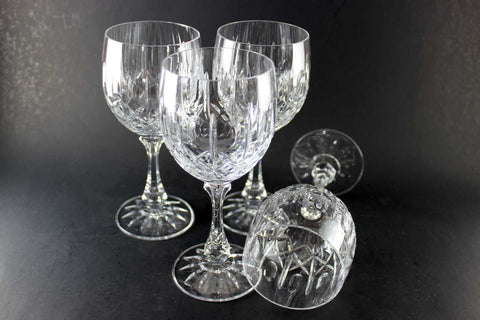 Cross and Olive Wine Glasses