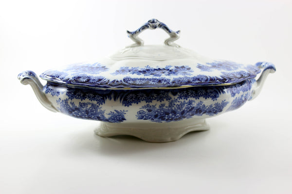 Antique Porcelain Covered Serving Dish-Dudson, Wilcox & Till