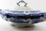 Porcelain Covered Serving Dish-Dudson, Wilcox & Till