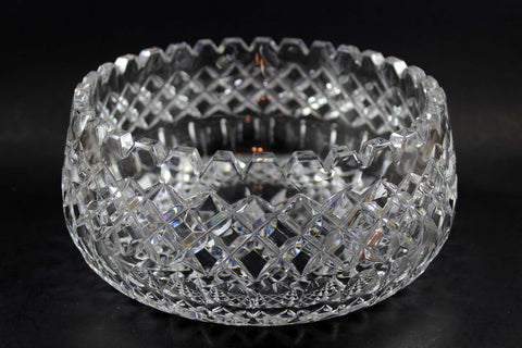 Diamond Cut Crystal Bowl 1