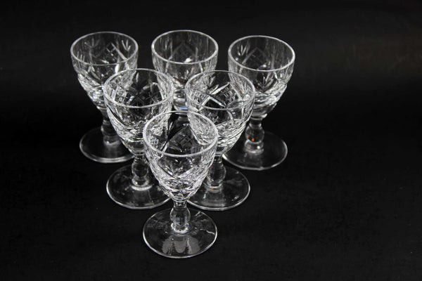 Edinburgh Crystal, Liqueur Glasses