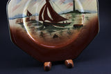 Empire Ware EP Co. Antique Plate - Stormy Waters
