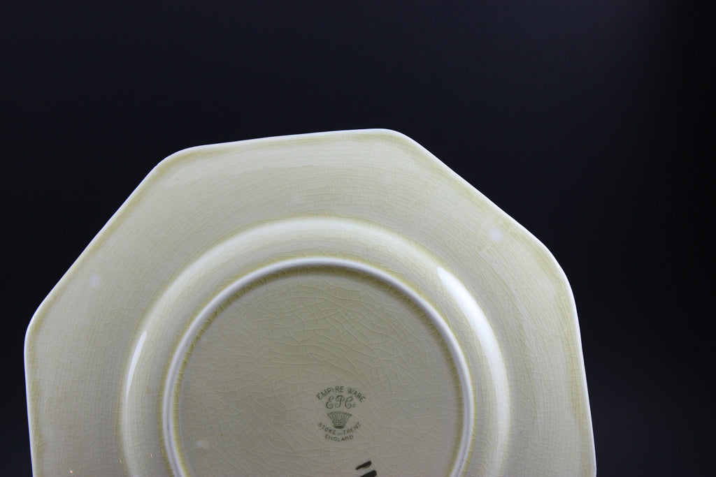 Empire Ware Ep Co Antique Plate Stormy Waters With A Past