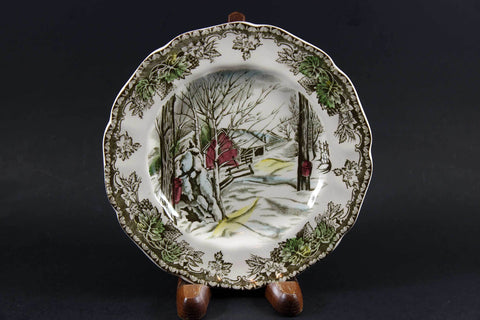 Friendly Village, Johnson Brothers, Bread & Butter Plate