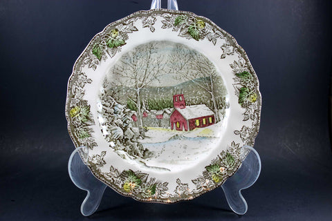 Friendly Village, Johnson Brothers, Large Dinner Plate