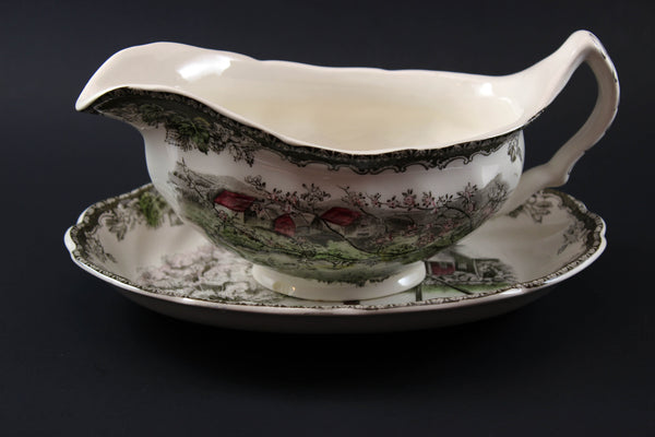 Johnson Brothers The Friendly Village Gravy Boat