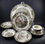 Friendly Village, 7 Piece Place Setting