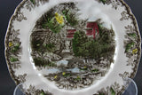 Friendly Village, Johnson Brothers, Large Dinner Plate - The Lily Pond