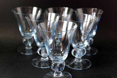 Gulli Blue Crystal Stemware by Swedish_Group