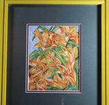 Helen Weiner, Yellow Lilies, Watercolour