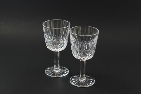 Waterford Crystal, Vintage Lismore Port Glasses (2)