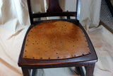 Antique Nursing/Sewing Rocker, Small, Star pattern seat