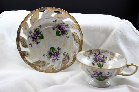 Celebrate - Made in Japan - Teacup & Saucer
