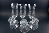 Princess House Crystal - Dessert/Parfait Glasses (6)