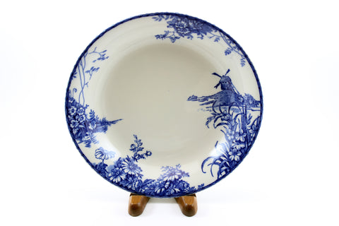 The Lahaya Pattern Blue & White Plate Grindley 1920's