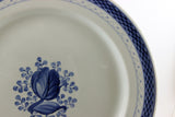 "Royal Copenhagen Tranquebar, Blue 13"" ChopPlate Denmark"