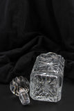 Crystal Decanter - Czech Bohemia Pinwheel