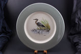 Great Blue Heron cabinet plate by Dennis Puleston