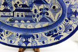 Chinese Export Large Canton Platter, Blue White,19th C.