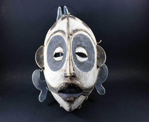 Igbo Carved Wooden Mask, Nigeria