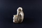Native American Alabaster Sculpture Navajo Woman