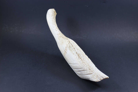 Inuit Carving, Arctic Bird in Bone