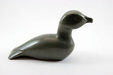 Inuit Soapstone Sculpture Arctic Water Bird