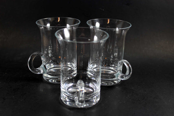 Dartington Crystal Irish Coffee Mugs