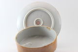 Japanese Lustreware Covered Butter Dish 1920's