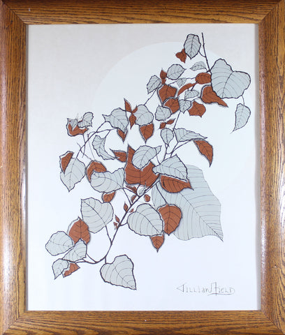 Jillian Field, Signed Serigraph