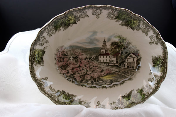 Johnson Brothers-The Friendly Village-Vegetable Serving Bowl
