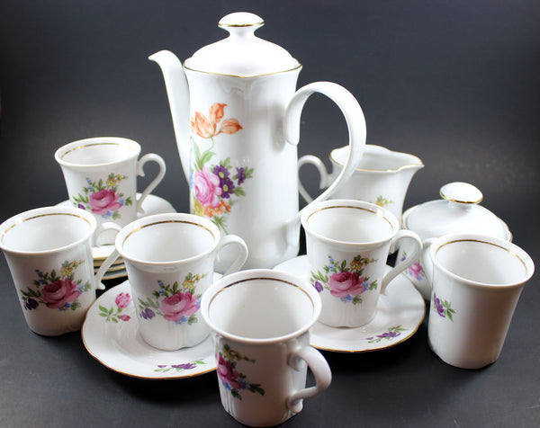 Kahla Coffee Set GDR