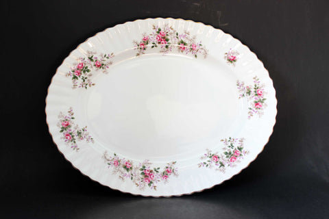 "Royal Albert, Lavender Rose, 16"" Serving Platter"