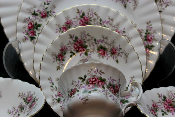 Royal Albert, Lavender Rose, 7 Piece Place Setting