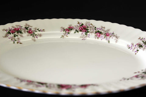 "Royal Albert, Lavender Rose, 13"" Serving Platter"