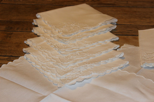 Linen Luncheon Napkins