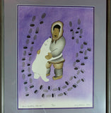 Mary Okheena, Signed, Numbered, Stencil Print