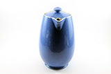 Moorcroft 1930's Coffee Hot Water Pot Blue & White
