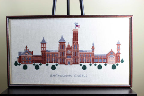 Needlework Art, Smithsonian Castle