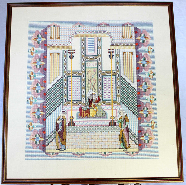 Needlepoint, Turkish Altar Scene