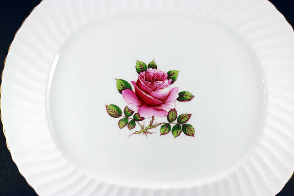 Northumbria Carleton Rose Oval Serving Platter