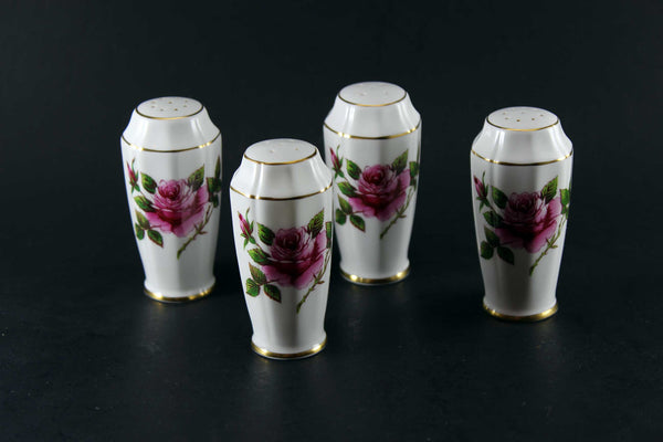 Northumbria Carleton Rose Salt and Pepper Shakers (1 Set)