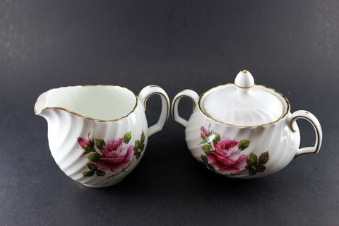 Northumbria Carleton Rose, Cream & Sugar Set