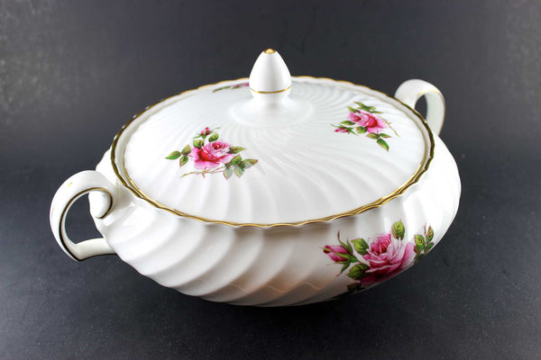 Northumbria Carleton Rose Covered Serving Dish