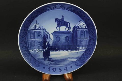 Royal Copenhagen, Christmas Plate, 1954