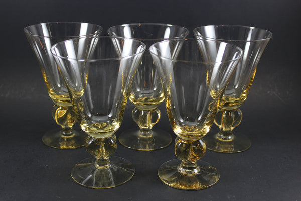Crystal Stemware, Gulli (Gold) by Swedish
