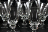 Crystal Water Goblets, Gulli-Ingrid (Clear) by Swedish